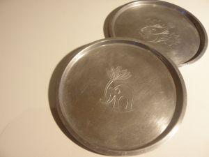 метални подложки за чаени чаши-нераждавейка