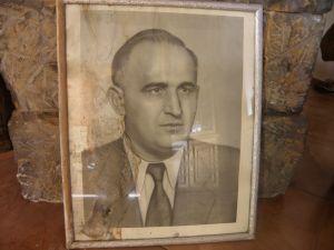 Тодор Живков-портрет/снимка/  в рамка43/56см.