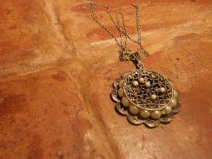 сребърен накит с перли
