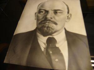портрет на Ленин-снимка без рамка 48/60см