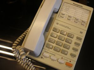 телефонен апарат PANASONIK