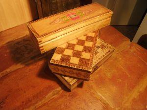 дървени кутии от миналото