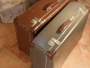 Картонени куфари -2бр от 1939г.